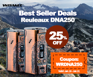 25% off Deals for Reuleaux DNA250
