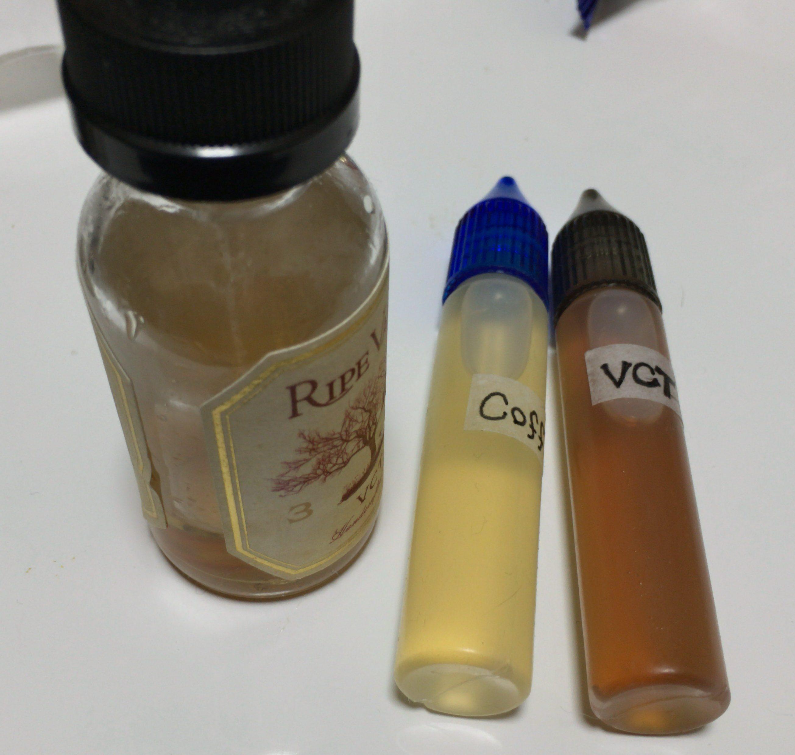 VCTが無くなりそうなのでT&M+Tobacco Goldで間に合わせる