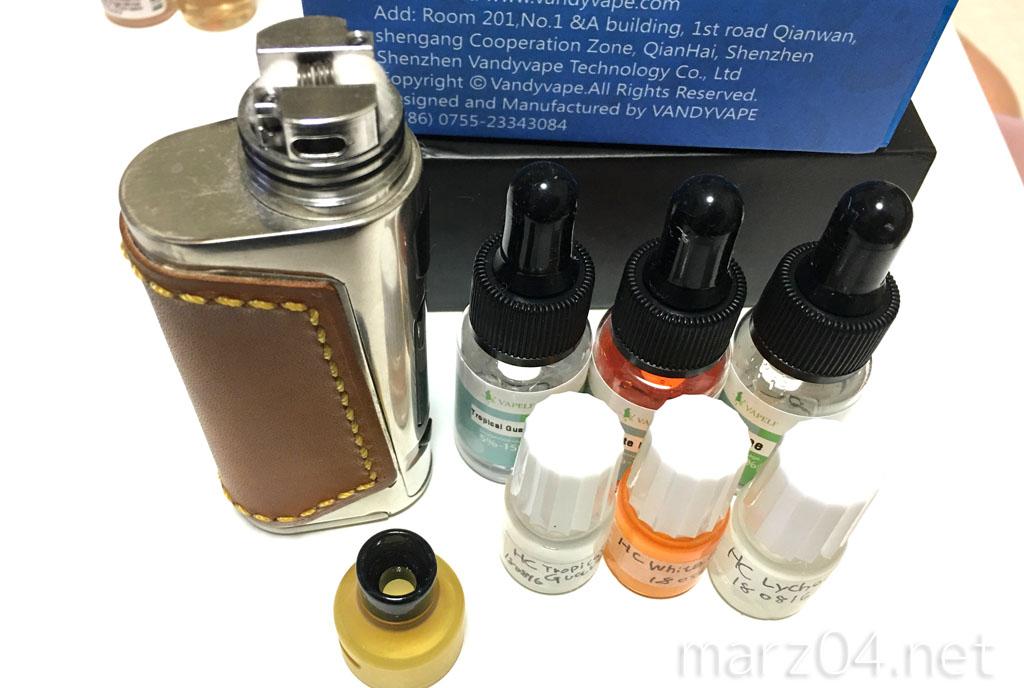 復活したHealthCabinのフレーバー(香料)をレビュー | 試飲編1:まずはフルーツ系から