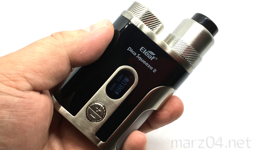 Eleaf Pico Squeeze 2 with Coral 2レビュー | テクニカルに生まれ変わったピコンカー