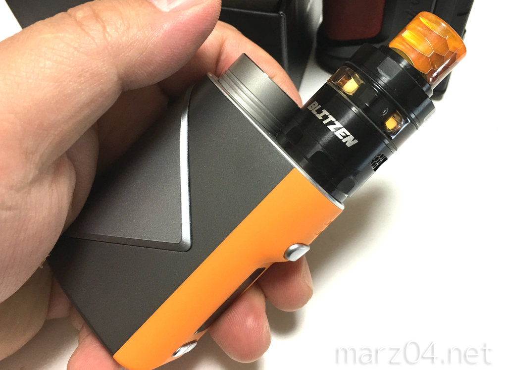 Geekvape Lucid 80w Mod購入 | 25mmアトマにも対応可能なコンパクトMod