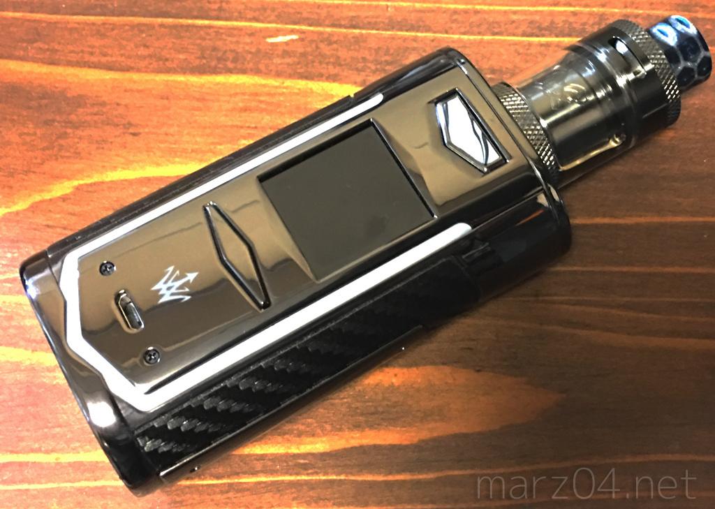 VOOPOO & Woody Vapes X217 Mod レビュー|シックだけどド派手なネオン。21700デュアルの超弩級テクニカル