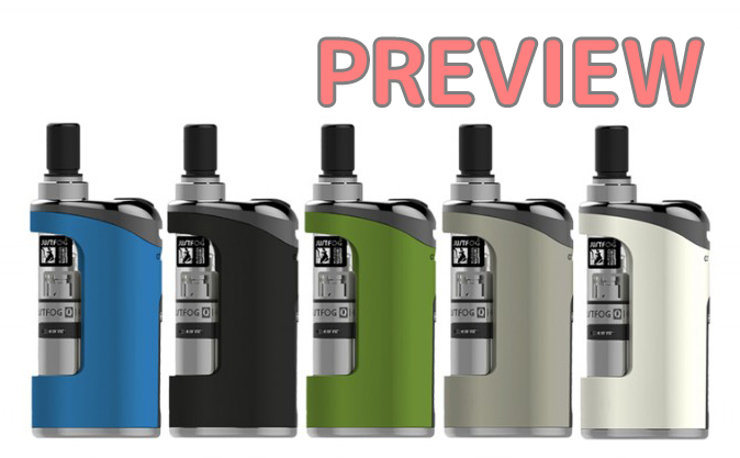 【プレビュー】JustFog Compact 14 Starter Kit 1500mAh with Q14 Atomizer