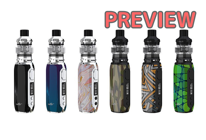 【プレビュー】Eleaf iStick Rim kit 80W with MELO 5 Atomizer