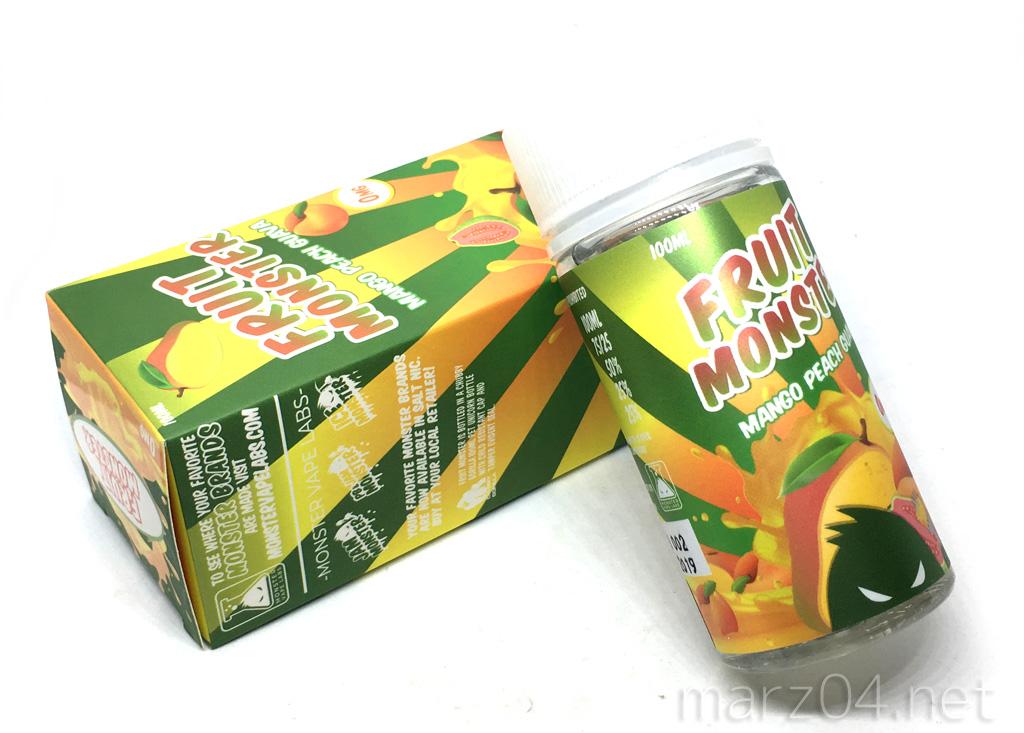 Fruit Monster MANGO PEACH GUAVA リキッドレビュー|リアル系マンゴー&グァバ