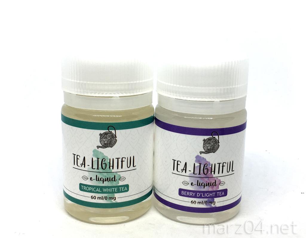Tea-Lightful Berry D'Light Tea / Tropical White Tea レビュー|これがアメリカ発!?上品な紅茶リキッド(1/2)