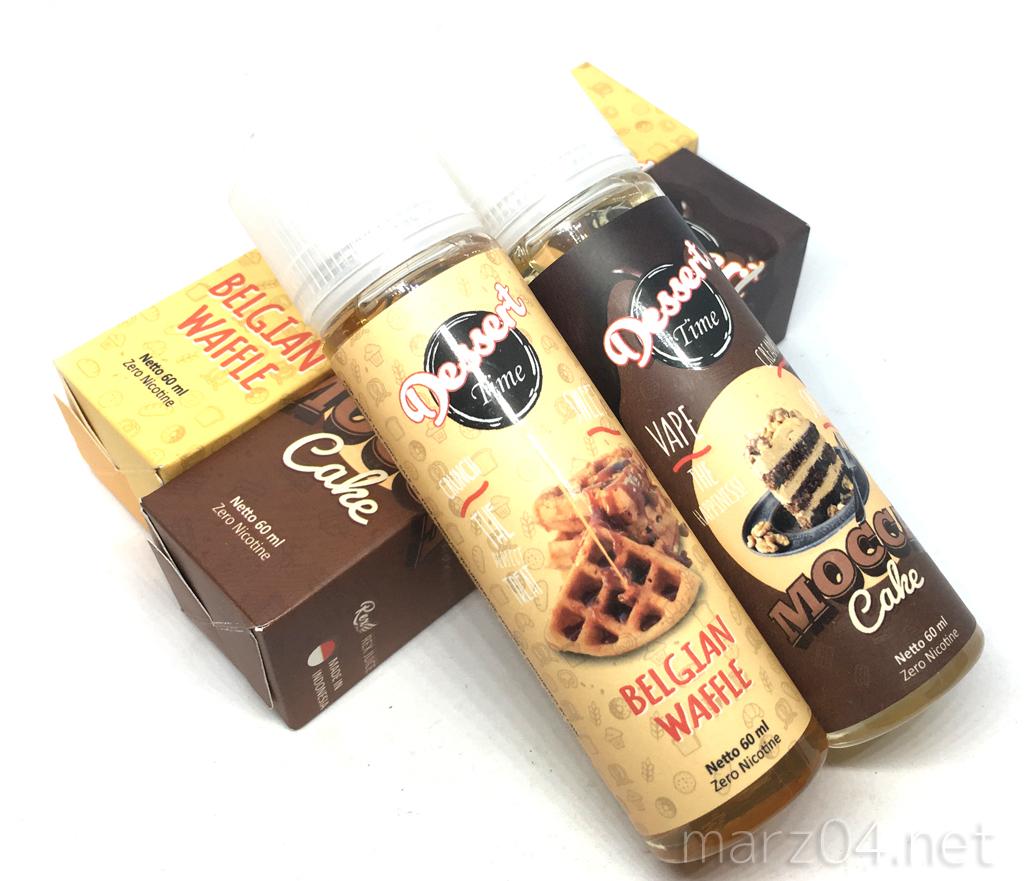 Rex Juice 新作4種レビュー(1/2)|Dessert Time BELGIAN WAFFLE / MOCCA Cake