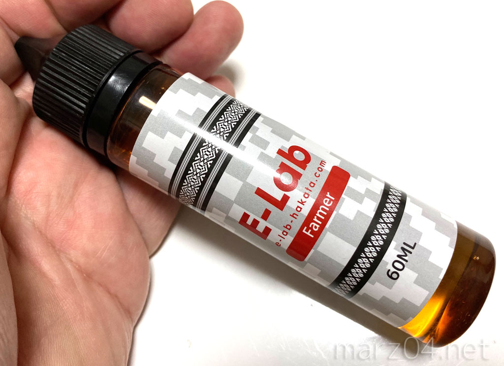 E-Lab Farmer リキッドレビュー|爽やかな甘酸っぱさのアップルタバコ