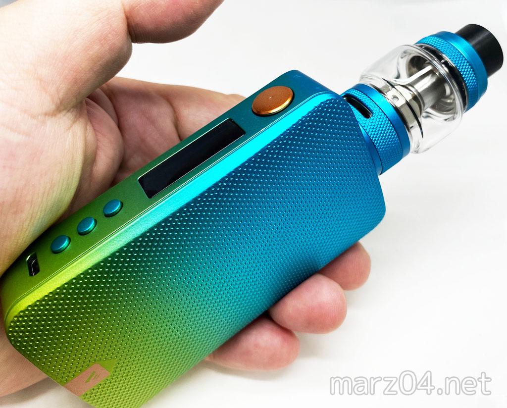 Vaporesso – GEN S Kit レビュー|高性能で見た目麗しいデュアルバッテリー