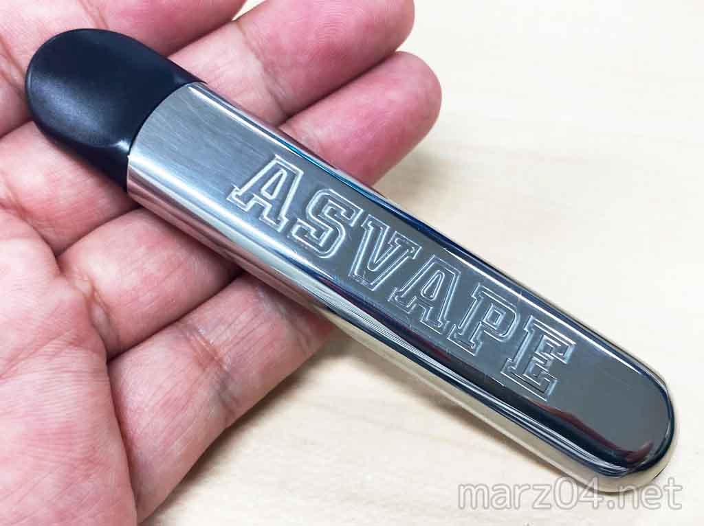 ASVAPE – VULCAN Pod レビュー|スタイリッシュ・シンプル・美味・急速充電